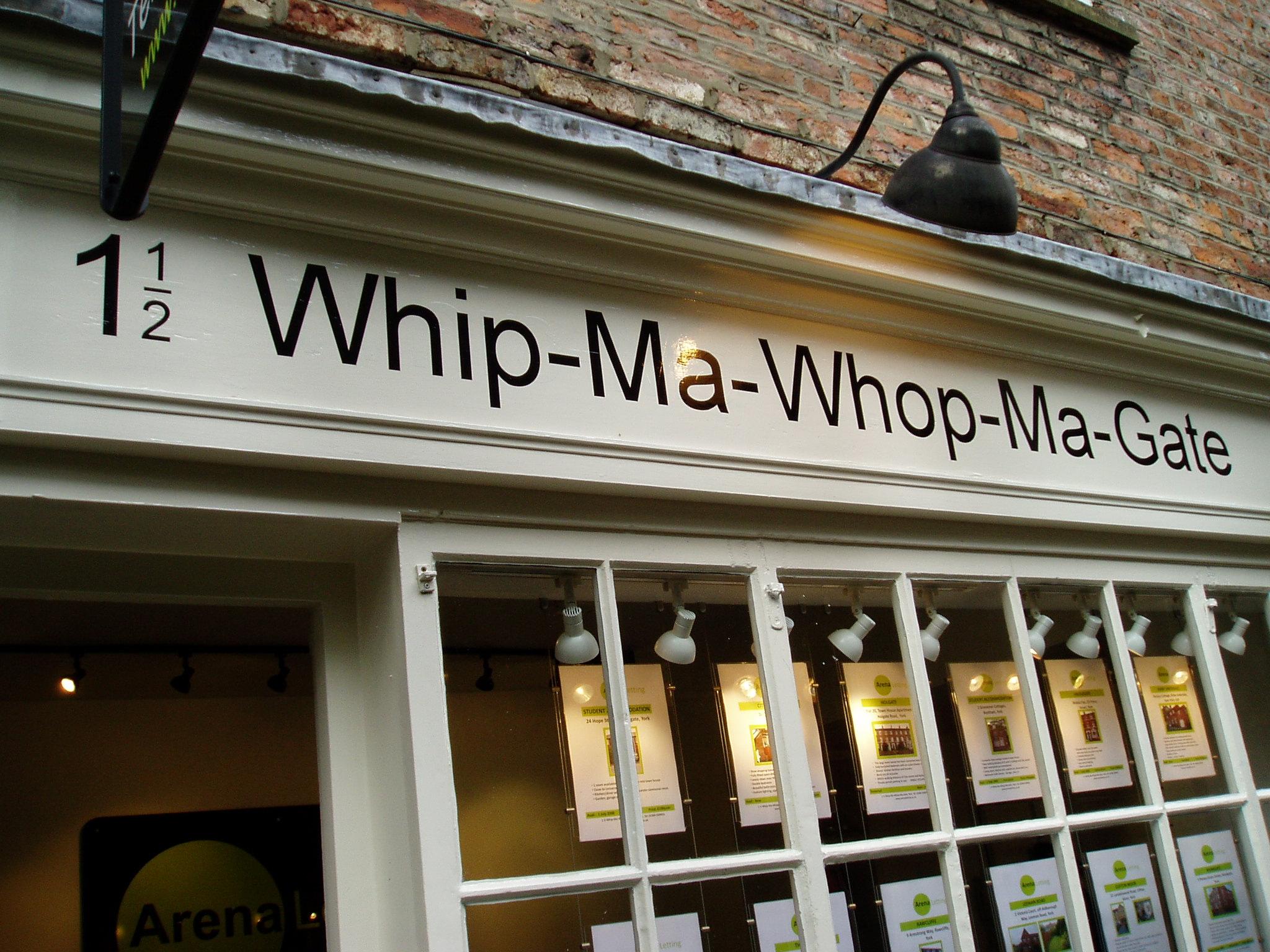 Hus nummer halvanden i Whip-Ma-Whop-Ma-Gate ...